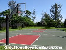 This full basketball court is a popular Greystone amenity.