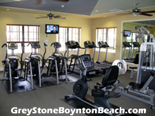No need to pay for a health club membership somewhere else in Boynton Beach when this convenient fitness facility is conveniently located within GreyStone's community clubhouse.