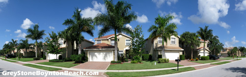 Greystone in Boynton Beach, FL is a well-kept community that was built by GL Homes.