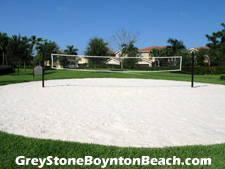 The beach has come to Greystone! You can play volleyball right here on this sandy court, then head over to the pool for a swim to cool off.